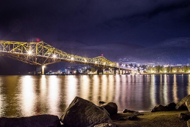BOB aka the Big Orange Bridge, Nelson, BC - by Ben Hall Photo, via Flickr