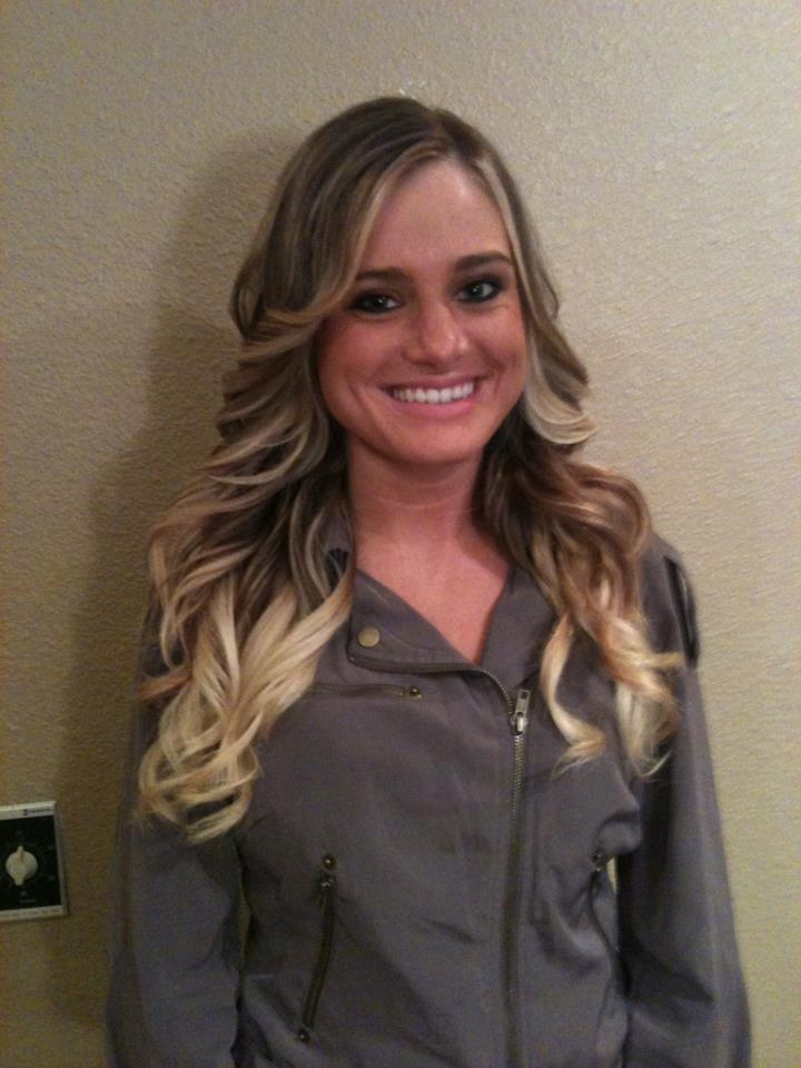 Balayage and style I did today by Whitney Anderson
