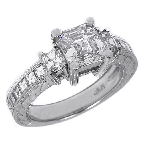 17 Best images about Royal Asscher Ring on Pinterest