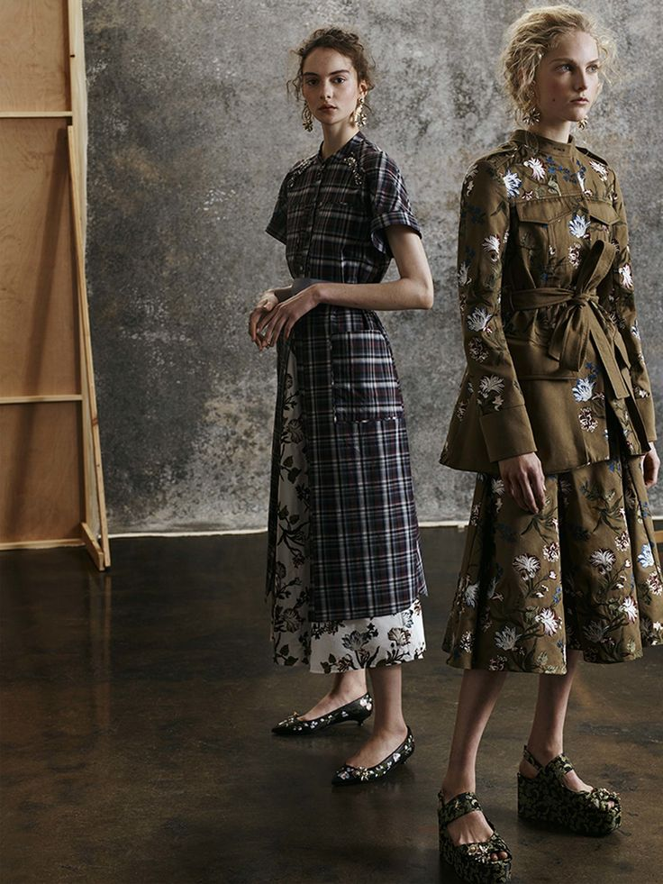 #Erdem  #fashion  #Koshchenets Erdem Pre-Fall 2017 Collection Photos - Vogue