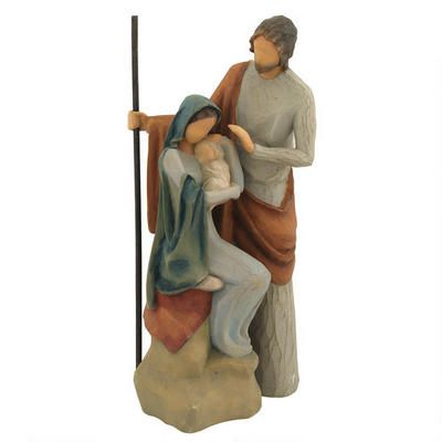 The Holy Family Willow Tree figurine #Christmas #Nativity #Willowtree  www.morethanwords.com