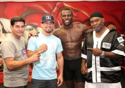 PREMIER BOXING CHAMPIONS PHILADELPHIA MEDIA WORKOUT DANNY GARCIA & STEVE CUNNINGHAM QUOTES