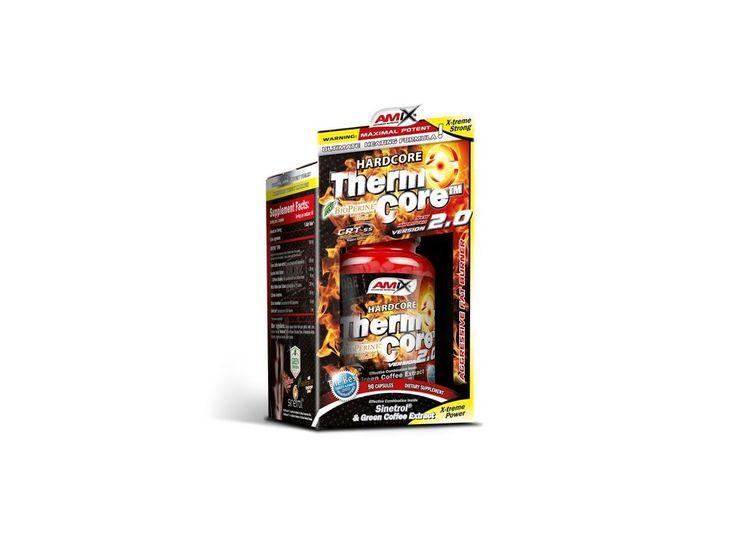 ThermoCore™ Improved 2.0 - 90 kapslí . SLEVA VIDITELNÁ PO REGISTRACI Amix™ ThermoCore™ 2.0 je nová inovovaná forma oblíbeného produktu, kombinující 7 důležitých složek (Sinetrol®, Green Coffee, Caffeine, Guarana, Synephrine, Salicin a BioPerine®)