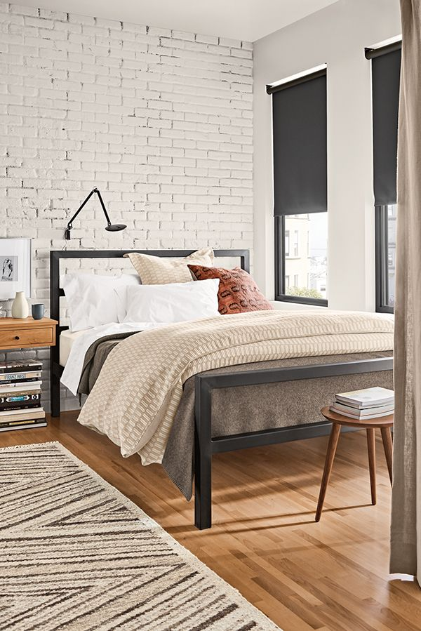 Parsons Bed Modern Contemporary Beds Modern Bedroom Furniture Room Board Black Bed Frame Modern Bedroom Furniture Modern Bed Frame Room and board bed frames