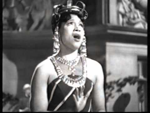 """Elisabeth Margaret Welch (February 19, 1904 – July 15, 2003) was an American singer, actress, and entertainer, whose career spanned seven decades.   Elisabeth Welch sings """"Drums In My Heart"""" - 1944 - YouTube  From the 1944 Ealing film, """"Fiddlers Three"""", starring Tommy Trinder & Sonnie Hale."""