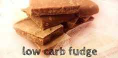 Choco fudge met kokos | Low carb | Vetbommetje - Knutselen in de Keuken