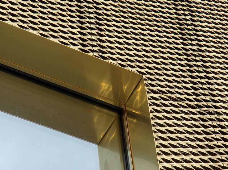 METAL SHEET AND PANEL FOR FACADE KME DESIGN TECU® COLLECTION BY KME ITALY S.P.A. - ARCHITECTURAL SOLUTIONS