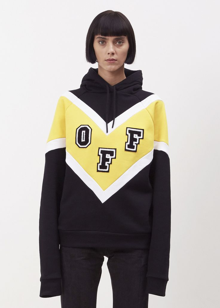 Off-White Off College Hoodie (Black/multi)