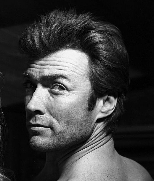 Clint Eastwood photographed on the set of Coogan's Bluff, 1968