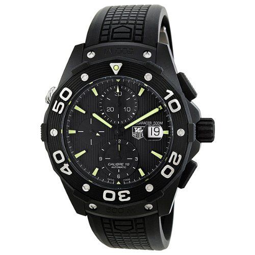 Tag Heuer Aquaracer Chronograph Automatic Black Dial Titanium Mens Watch CAJ2180.FT6023 TAG Heuer. $2772.00. Tag Heuer Aquaracer Chronograph Automatic Black Dial Titanium Mens Watch Caj2180.ft6023