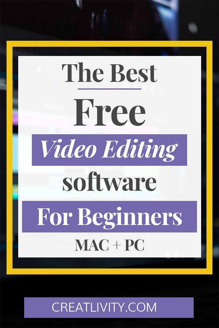 Best video editing software mac