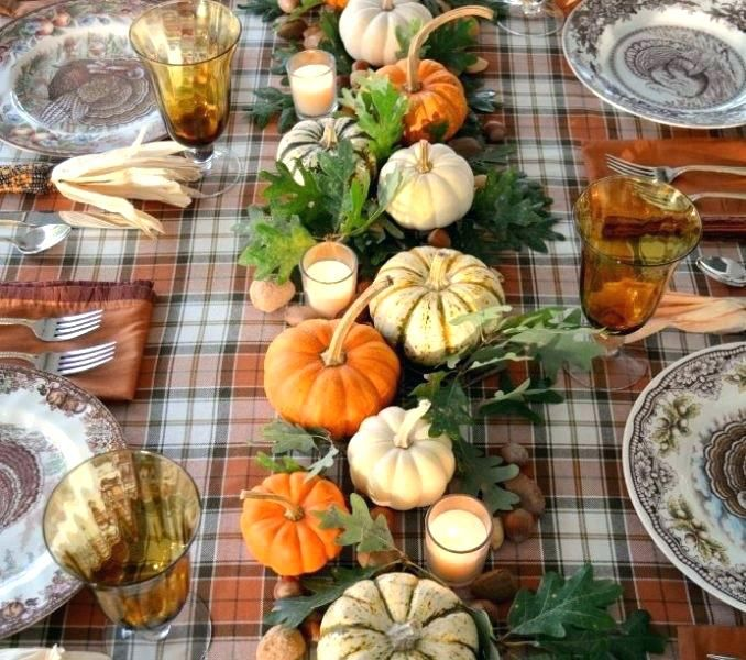 Thanksgiving decoration concept Via Infoesia thanksgiving