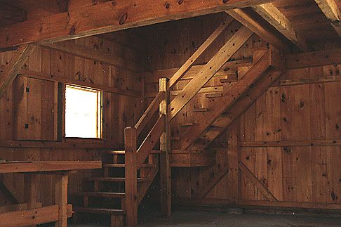 Stairs to loft: Decor Ideas, Barns Offices, Farms Ideas, House Ideas, Garage Apartment, Farms Life, Garage Talk, Bachelor Pads, Carriage House