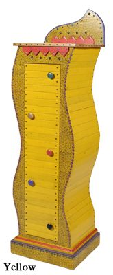 David Marshu0027s Mustard Alfalfa Cabinet.