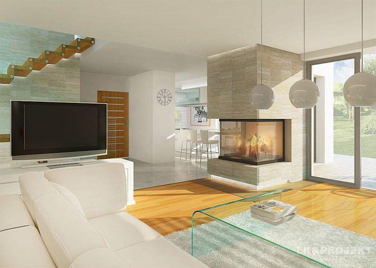 Moderne Wohnzimmer Bilder Dieses Haus Mit 149 M2 Macht Einfach Richtig Gute Laune Unser Entwurf LK935
