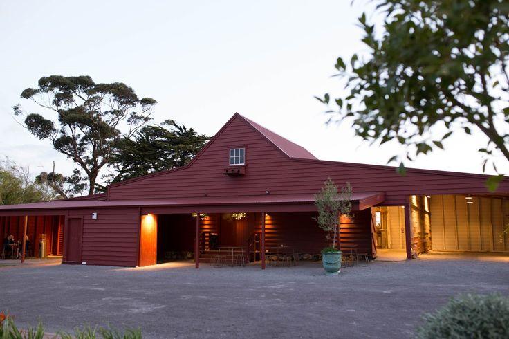 Barn in the dusk
