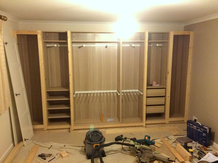 25 best ideas about ikea fitted wardrobes on pinterest diy fitted wardrobes ikea wardrobe Build your own bedroom wardrobes