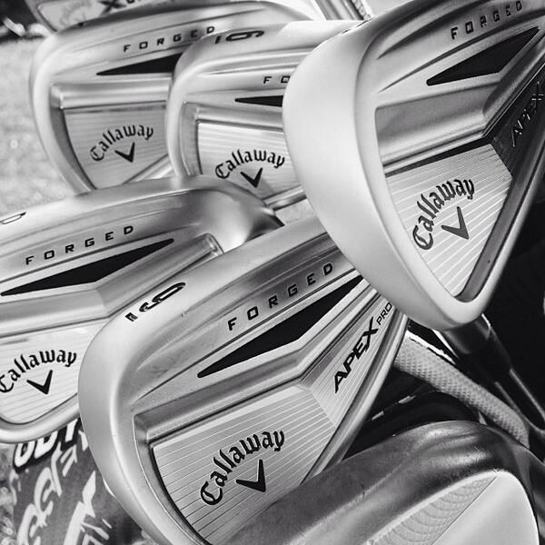 January 7, 2014: ''Apex Pro irons already in the bags of Pat Perez, John Rollins & more,'' said Callaway Golf.