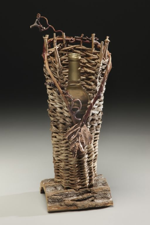 Wine Bottle Basket by Matt Tommey