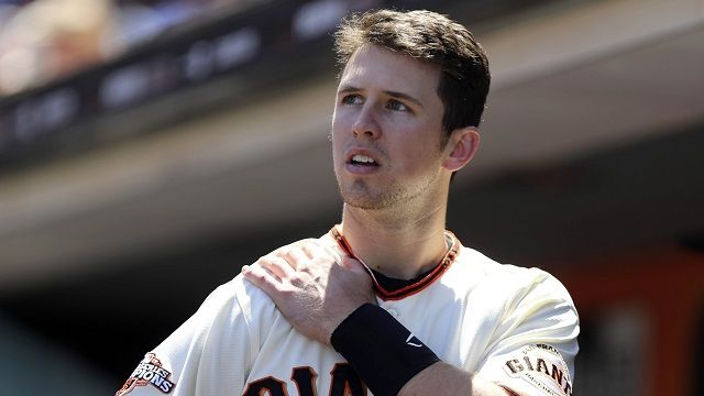 San Francisco Giants' Buster Posey