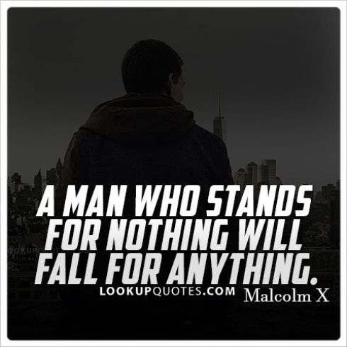Youre Only As Good As Your Character And What You Stand For A Man