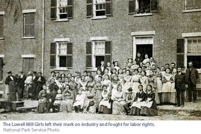 Lowell Mill Girls | In Lowell, Massachusetts, one revolution plants the seeds for yet ...