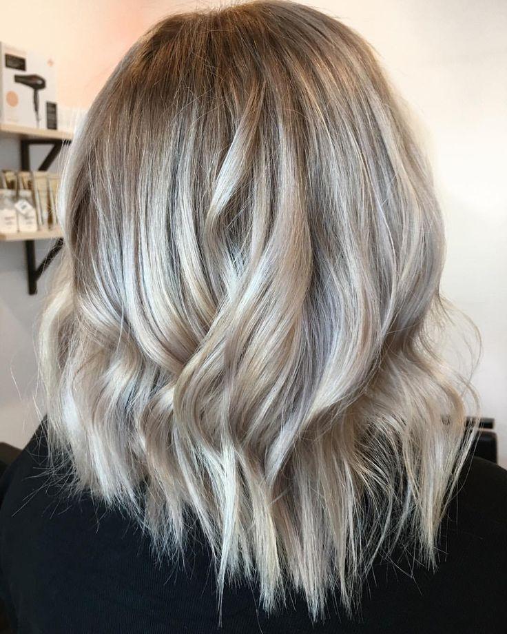 "292 Likes, 2 Comments - Hottes Hair Design (@jamiehottes_hair) on Instagram: ""Amazing Transformation ✔️✔️✔️ full head foils using @wellahair Blondor+6%+ @olaplex rinse dry off…"""