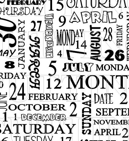The Cutting Cafe': CALENDAR BACKGROUND PRINTABLE STAMP SET.    Great to use on OWH cards - missing you.