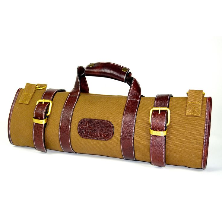 Handmade Bags | 17 Pocket Canvas Knife Bag — Boldric | Culinary & Luggage Apparel | Best Handbags | Best Chef Knives | Chef Knife Bags - Oh how I'd like the one in Abalone or Black!