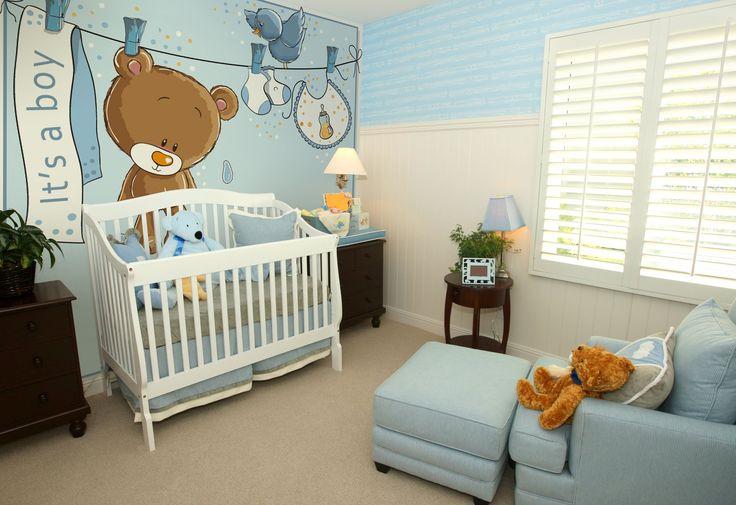 Tapeta idealna do pokoju małego chłopca