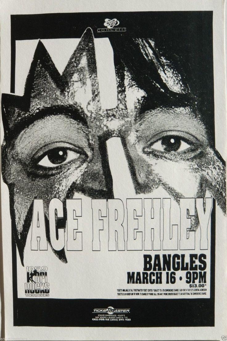 Classic Rock Posters | ... 1992 DENVER CONCERT TOUR POSTER - Classic Rock Music, Kiss Guitarist
