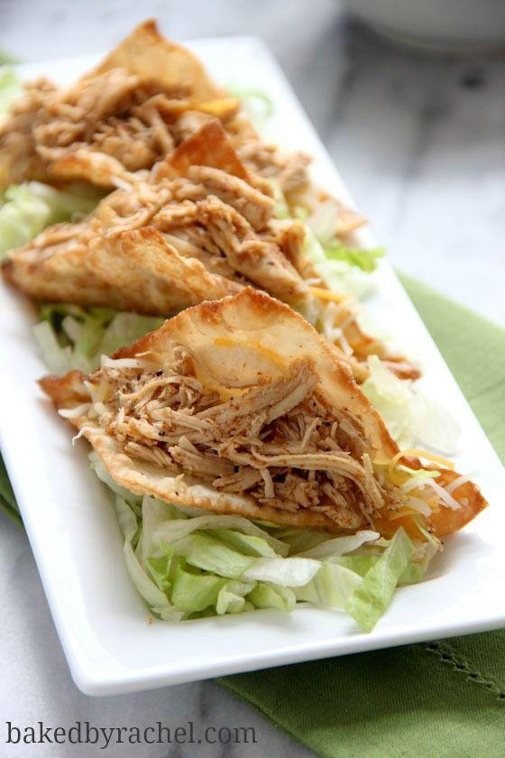 Crispy Wonton Tacos Recipe