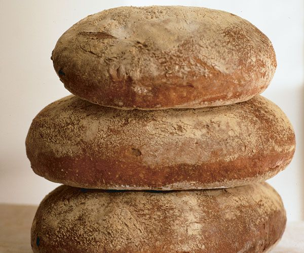 This high-rising bread has a crisp crust and an exquisite flavor