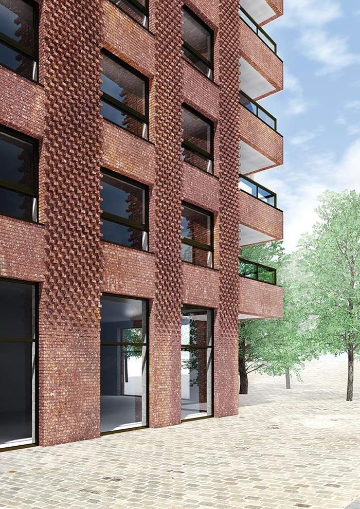 Westkaai Towers 5 & 6 - Antwerp - Tony Fretton Architects bdonline.co.uk
