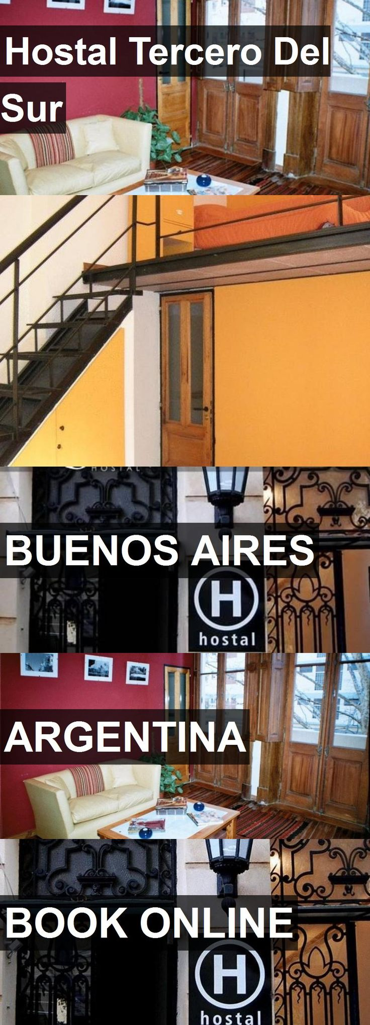 Hotel Hostal Tercero Del Sur in Buenos Aires, Argentina. For more information, photos, reviews and best prices please follow the link. #Argentina #BuenosAires #HostalTerceroDelSur #hotel #travel #vacation