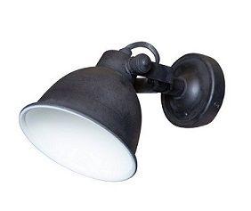 Muurspot, wandlampje antiekzwart