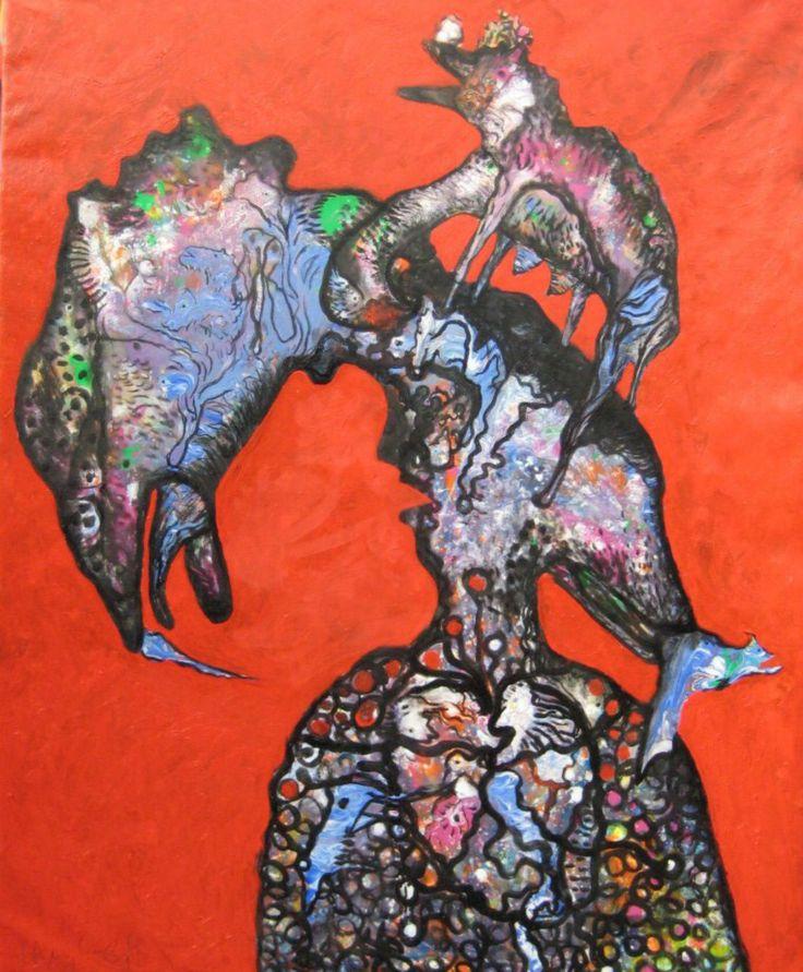 Luis GERALDES. Oil on canvas. 152x122 cm. SOLD BY CHRISTIE'S Auction House London. England.
