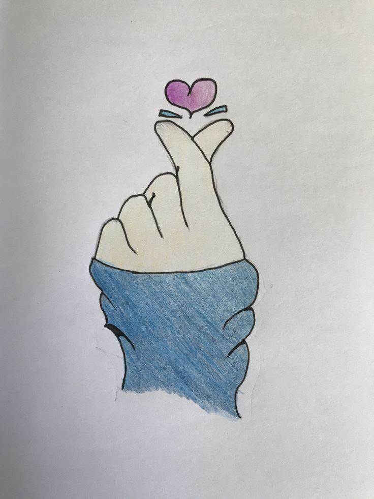 Прикольные рисунки карандашом для срисовки для начинающих для девочек