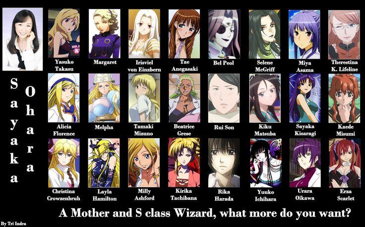 Blassreiter,FAIRY TAIL,Fate/zero,Kaleido Star,Kaze no Stigma, Queen's Blade,School Rumble,Seikon no Qwaser and more By Sayka Ohara