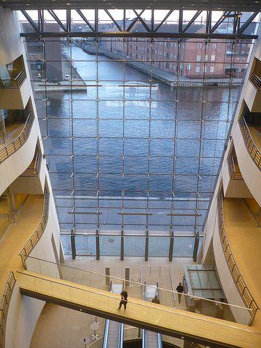 Det Kongelige Bibliotek (the royal library) (Copenhagen, København, CPH, KBH, Danmark, Danish, Denmark, travel, Europe, city, capital, visit, beautiful)