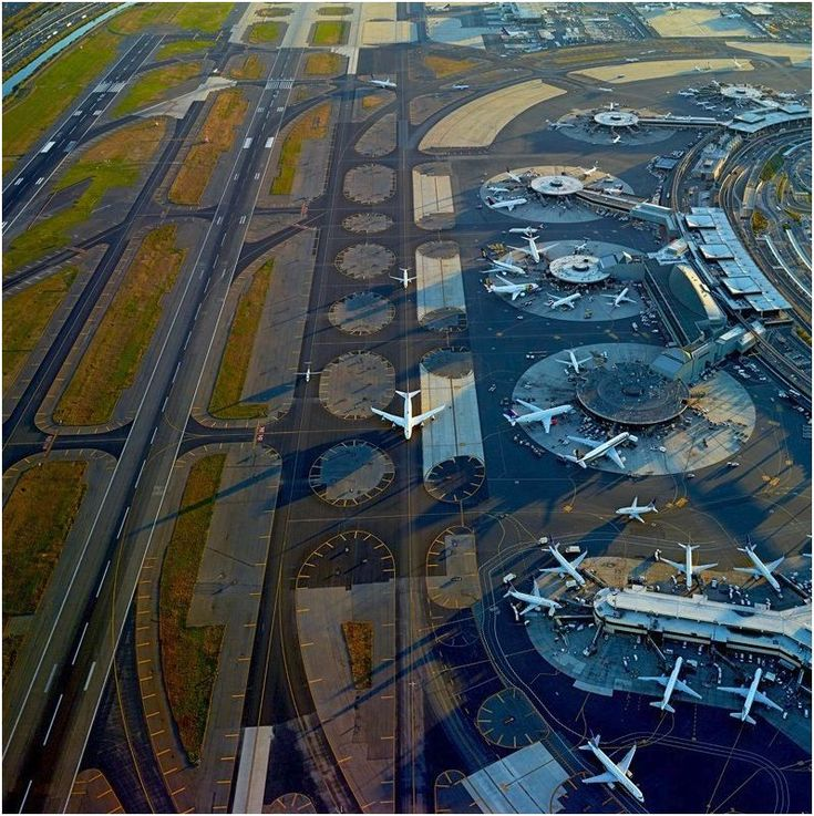 The Strange Beauty of Airports Photographed From Above - John Metcalfe - The Atlantic Cities  The shadows are amazing.