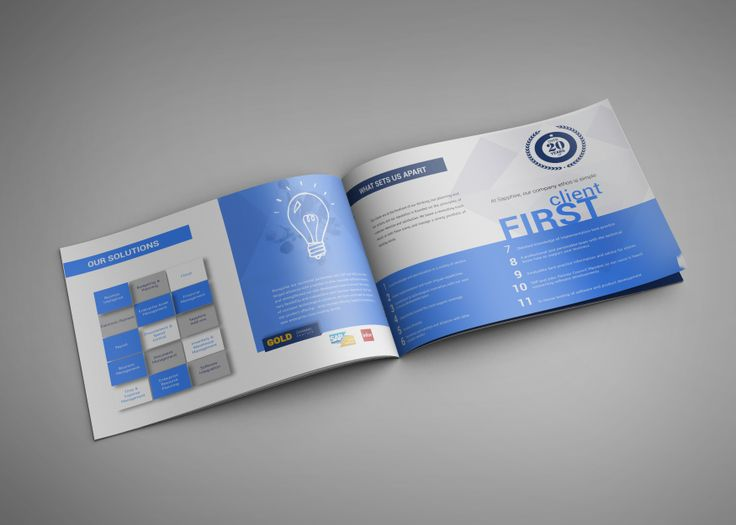#brochure design for a software company. Part of a complete re-brand.