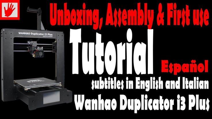 #VR #VRGames #Drone #Gaming Tutorial Impresora 3d Wanhao  duplicador  i3 Plus: unboxing, montaje,  alineación y  impresiones. #3D, #imprimir3d, #WanhaoDuplicatori3Plus, 3d printer filament, 3DPrint, 3dprinter, 3Dprinting, Drone Videos, filamento impresora 3d, impresora, impresora 3d, Impresora 3D barata, impresora 3d metal, impresora ABS, impresora pla, impresoras, impresoras 3d, imprimir 3d, mejor impresora 3d, Online 3d printing, PLA, pla 3d printer, printer, tipos de imp