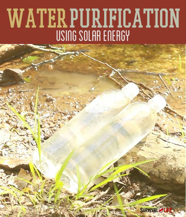 SODIS: Modern Water Purification System | SODIS, or solar ultraviolet water disinfection, is one of our favorite water purification methods. All it requires is a bottle, sunlight and a little time.  | Survival Prepping Ideas, Survival Gear, Skills & Emergency Preparedness Tips - Survival Life Blog: survivallife.com #survivallife