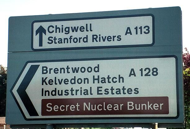 Saw this on Top Gear: Funny Signs, Secret Nuclear, Nuclear Bunker, Essex, Funny Stuff, Funnies, Photo, The Secret