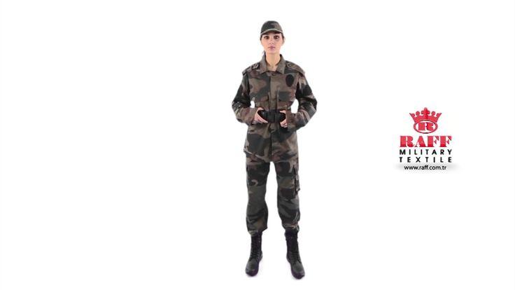 Askeri Kamuflaj Üniforma - Asker Kıyafetleri - Asker Malzemeleri - Asker...