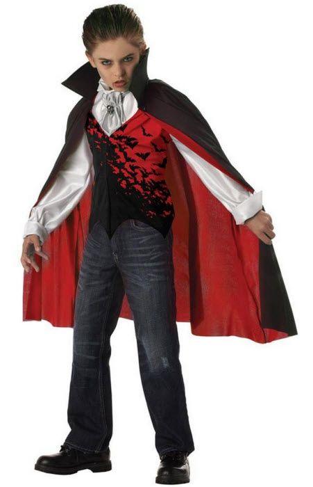 Boy's Vampire Costume