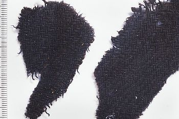 Viking Textile Fragment.  Uppland.