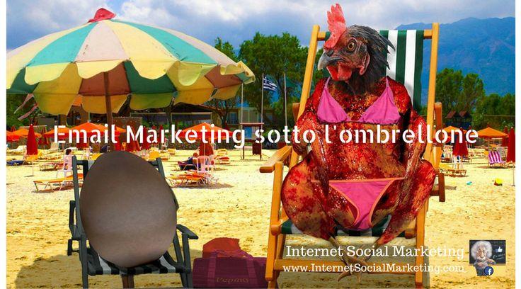 """""""Agosto, email mia non ti conosco...""""  Email marketing sotto l'ombrellone: la guida per creare campagne efficaci..."""