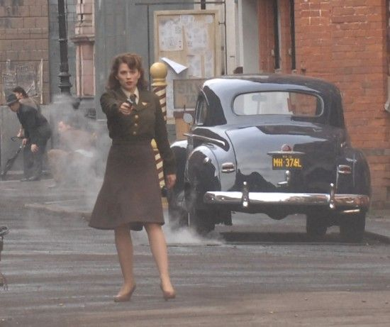 Peggy Carter..the woman with the gun. Love it. :D